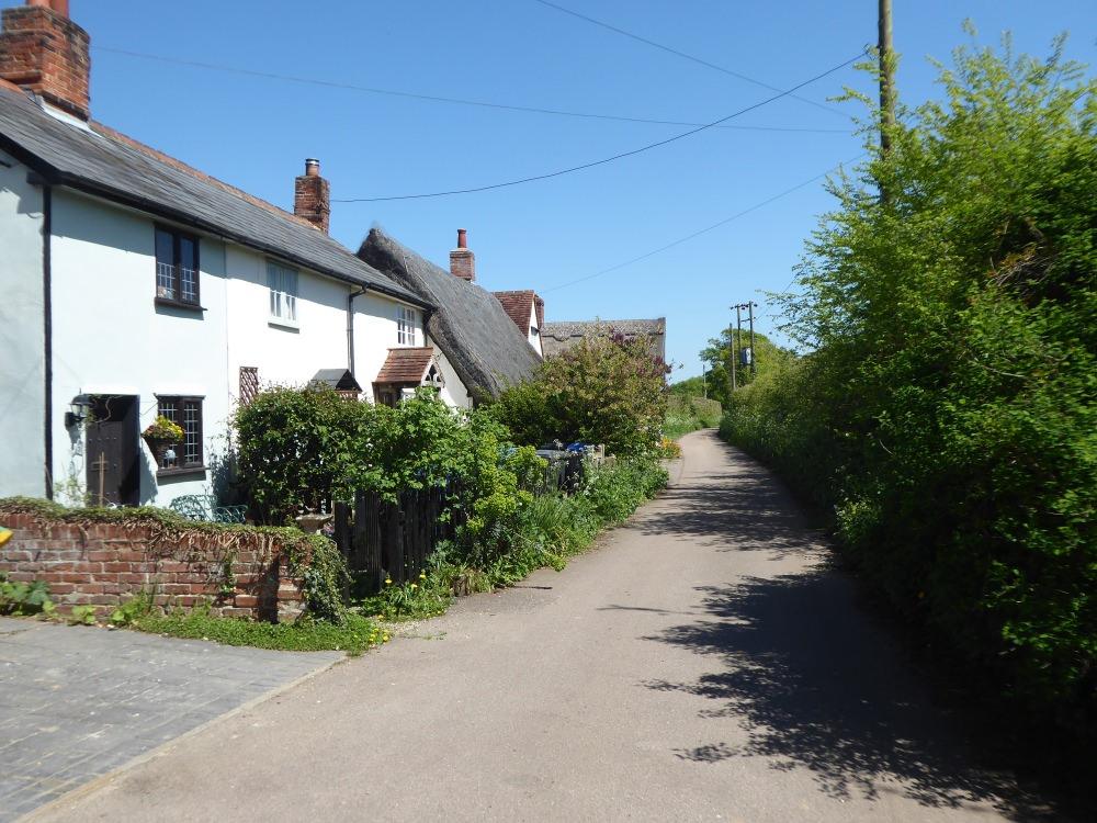 The Street towards Hole Farm