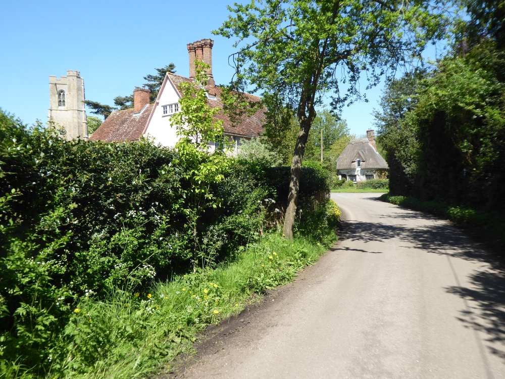 Walnut Tree Cottage from Rectory Road