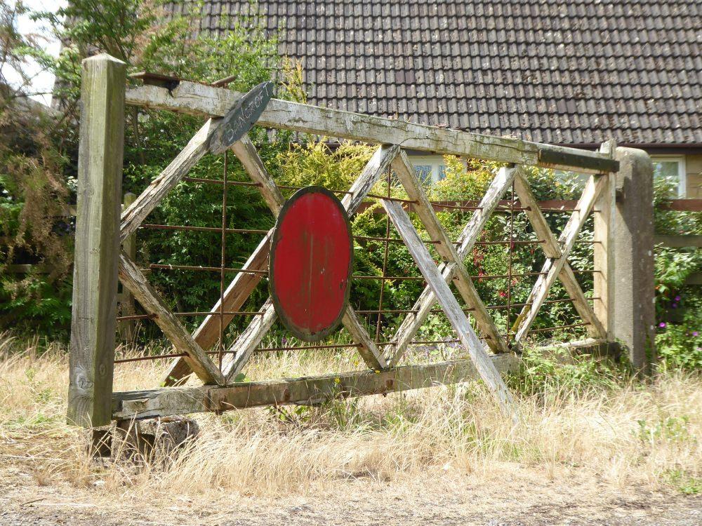 WW2 Airfield Gate