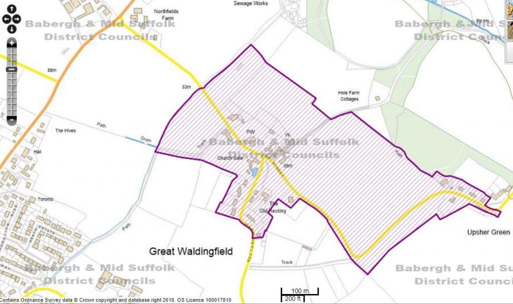 Map of Original Conservation Area