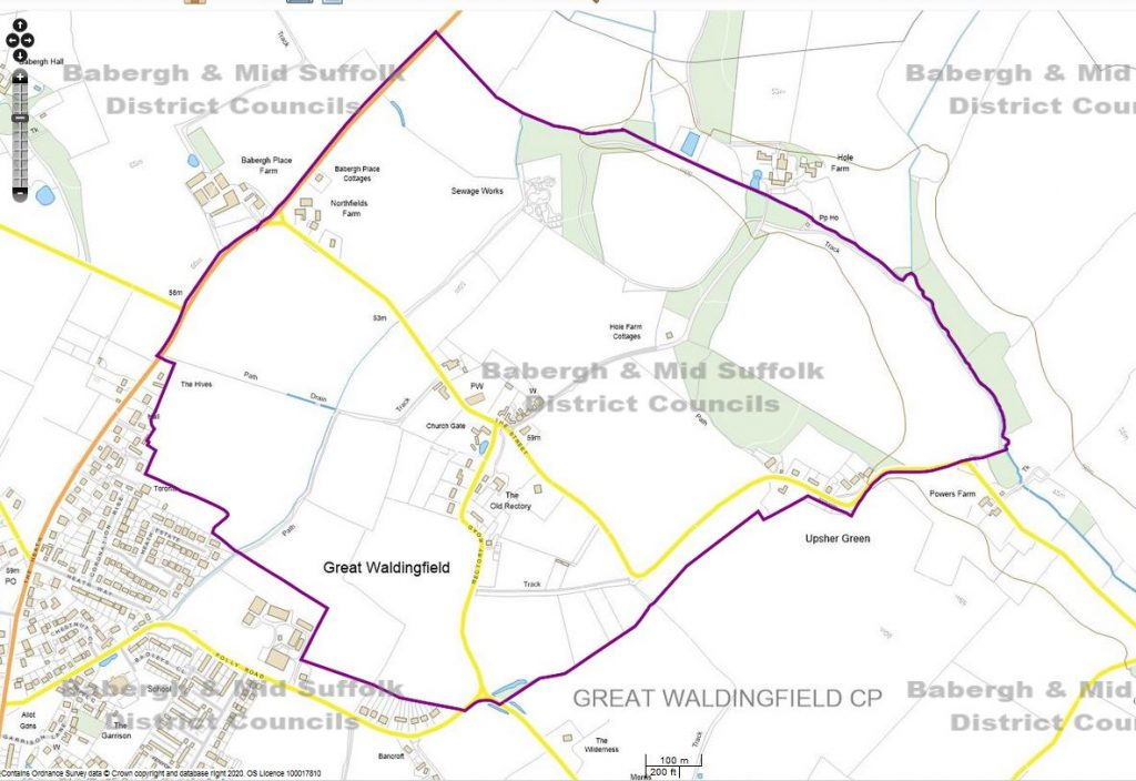 Map of Enlarged Conservation Area