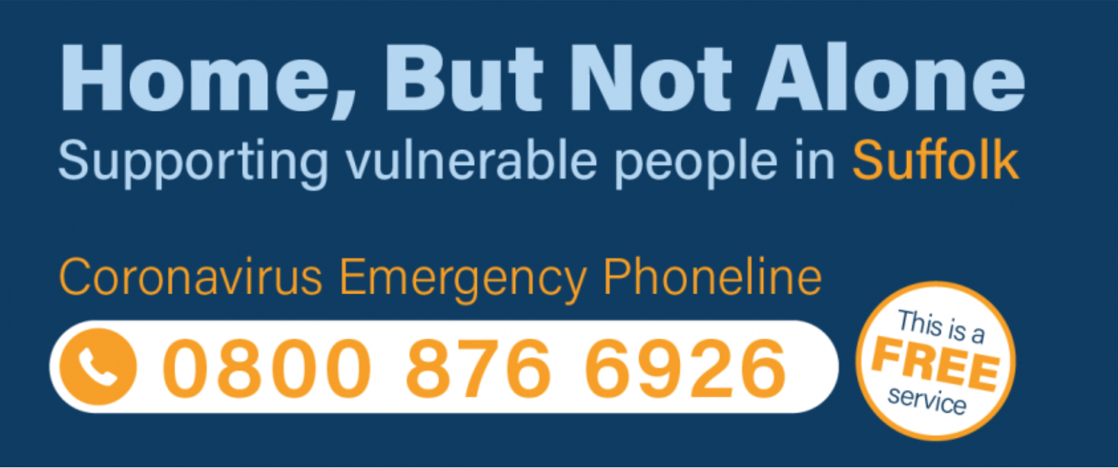 Coronavirus Free Emergency Helpline 0800 876 6926