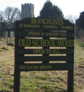 Old School Wood Sign