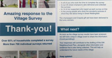 Final numbers in for the Survey!