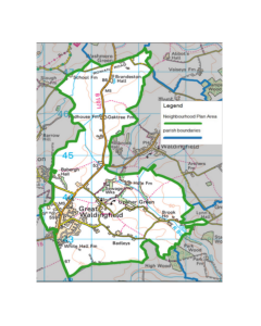 Great Waldingfield Parish Boundaries