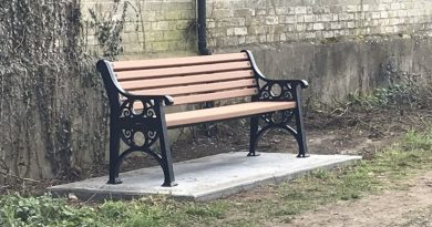 You asked for more benches in the Village Survey – THEY'RE HERE!