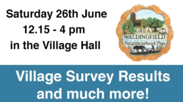 Third time lucky for our village drop-in?